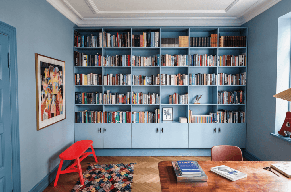 home office biblioteca