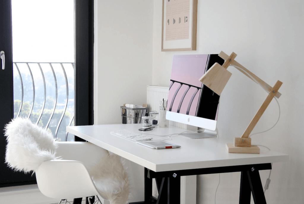 home office luminária