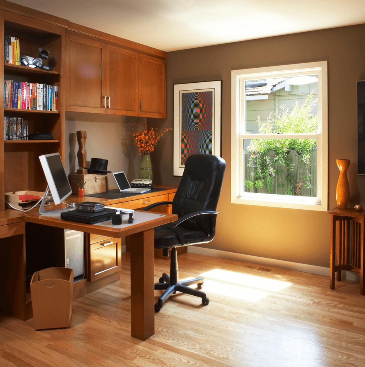 home office em madeira