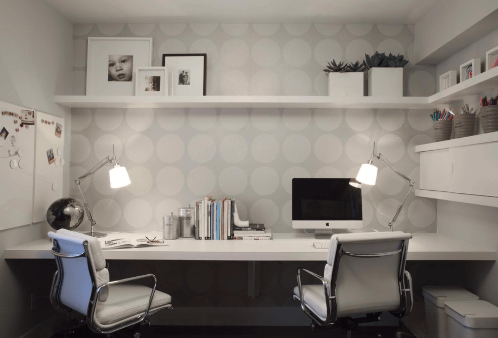 papel de parede escritório