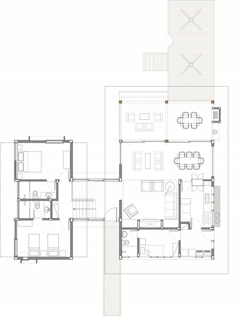 plantas 4 quartos