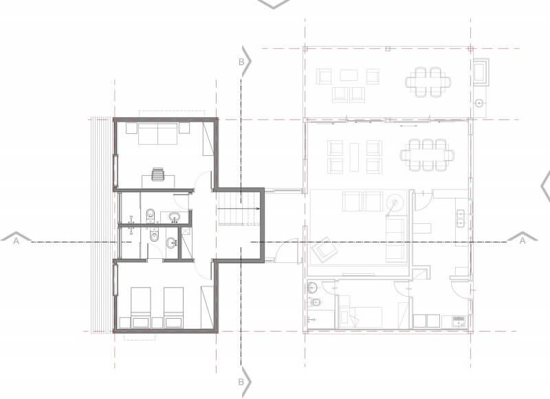 plantas casas 4 quartos