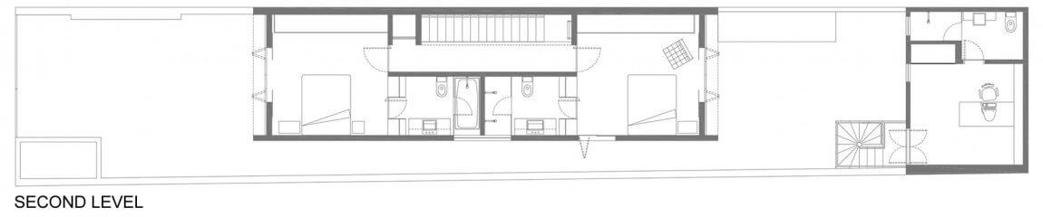 plantas de casas com dois quartos