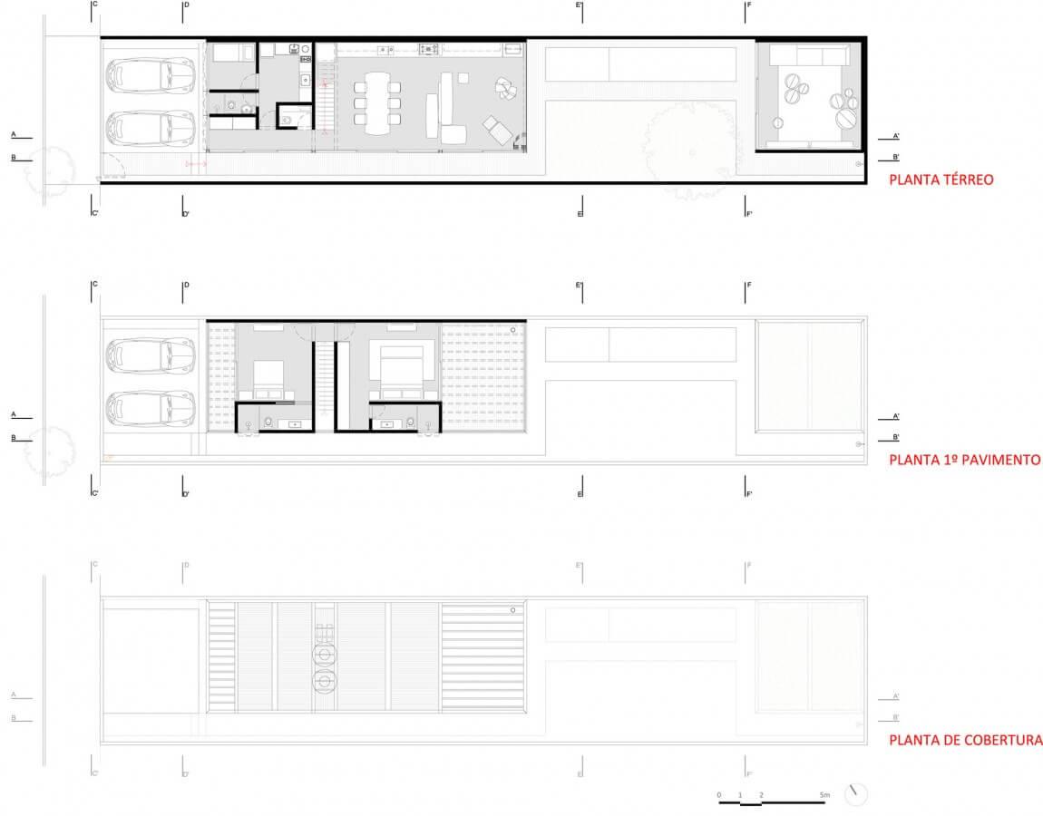 plantas de casas 2 quartos