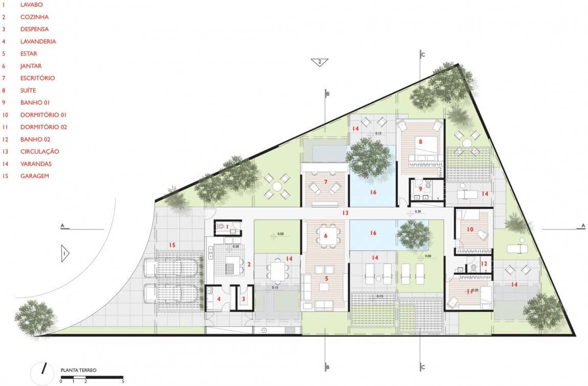plantas de casas terreas