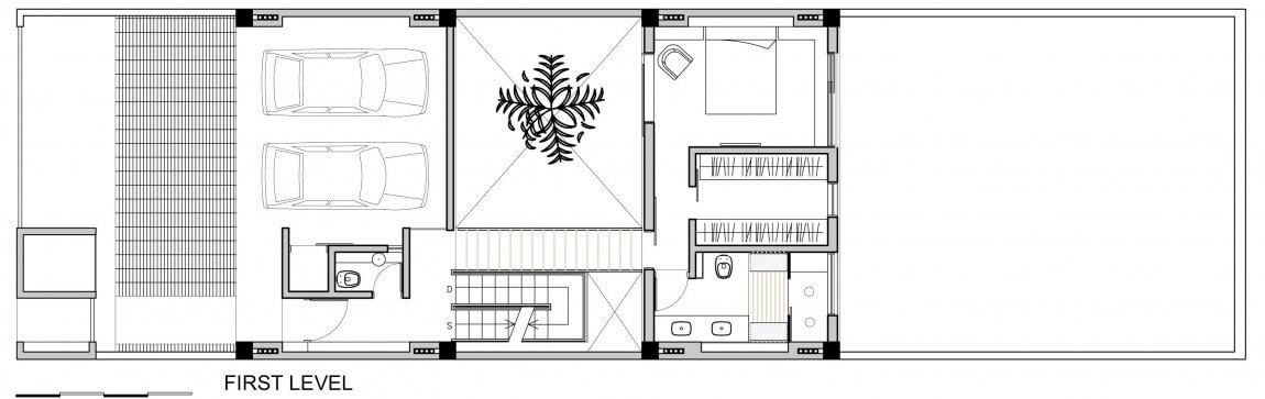 planta de casas modernas