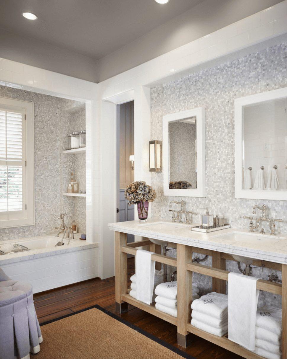 Pastilhas banheiro moderno
