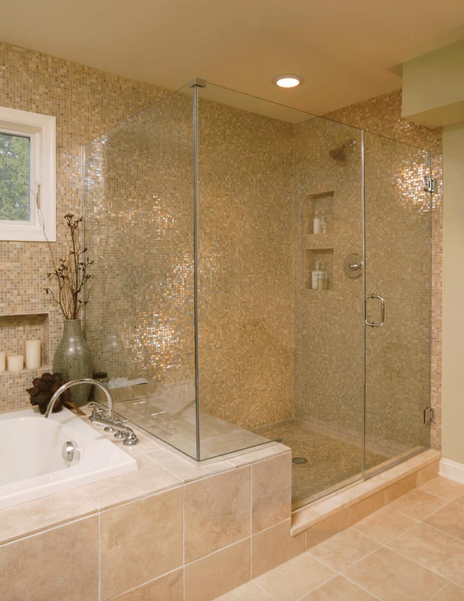 23 Banheiros com Pastilhas Lindas  Arquidicas -> Banheiros Decorados Com Pastilhas Amarelas