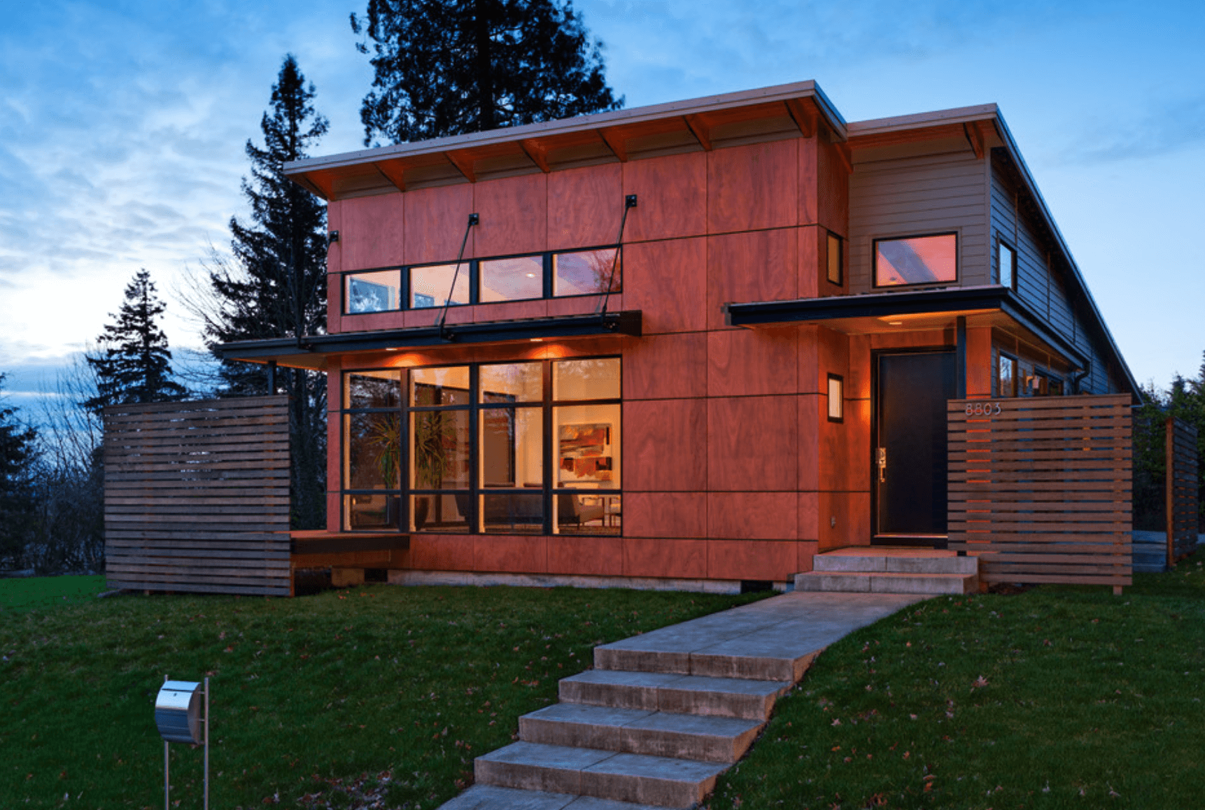 Casa bonita e moderna