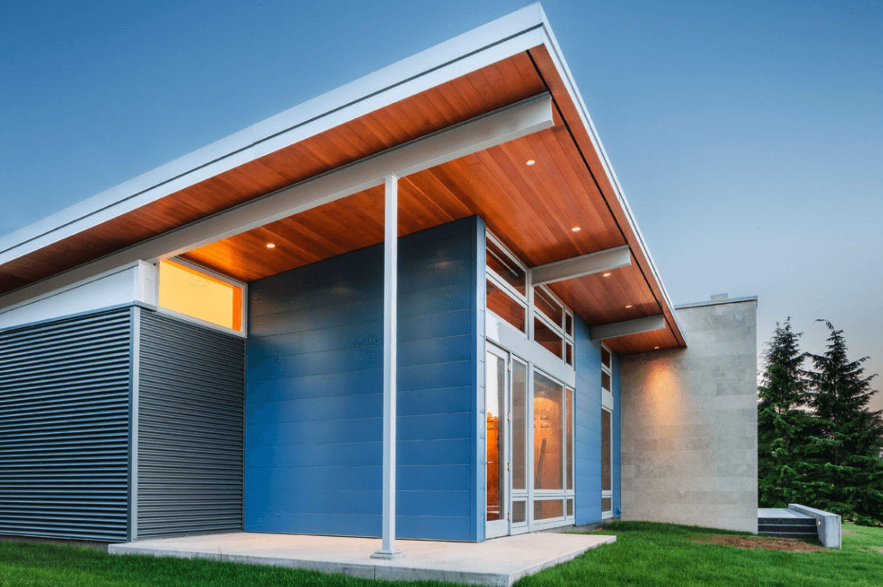 Casa bonita telhado
