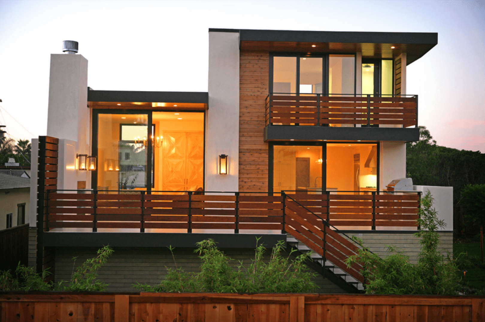 Casas bonitas com muro