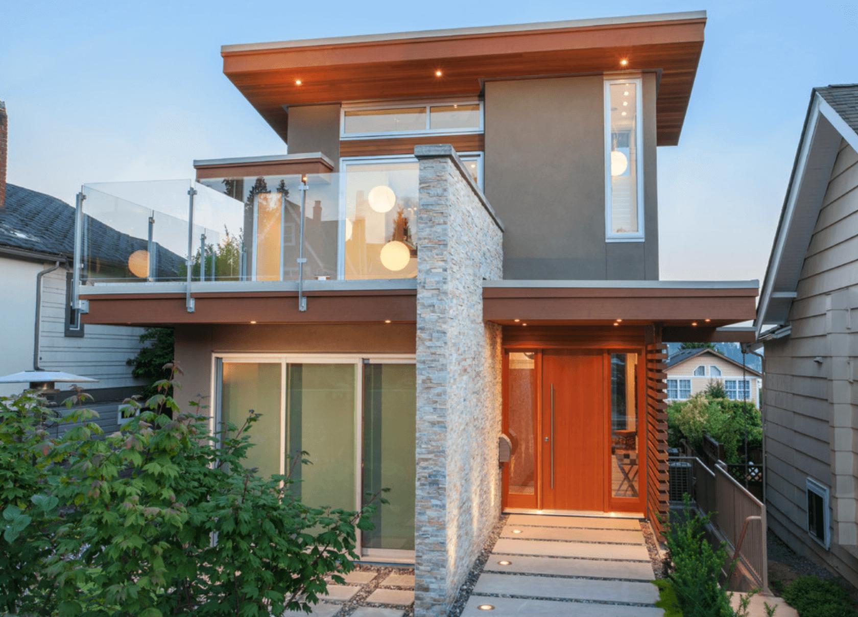 Casas bonitas de alvenaria