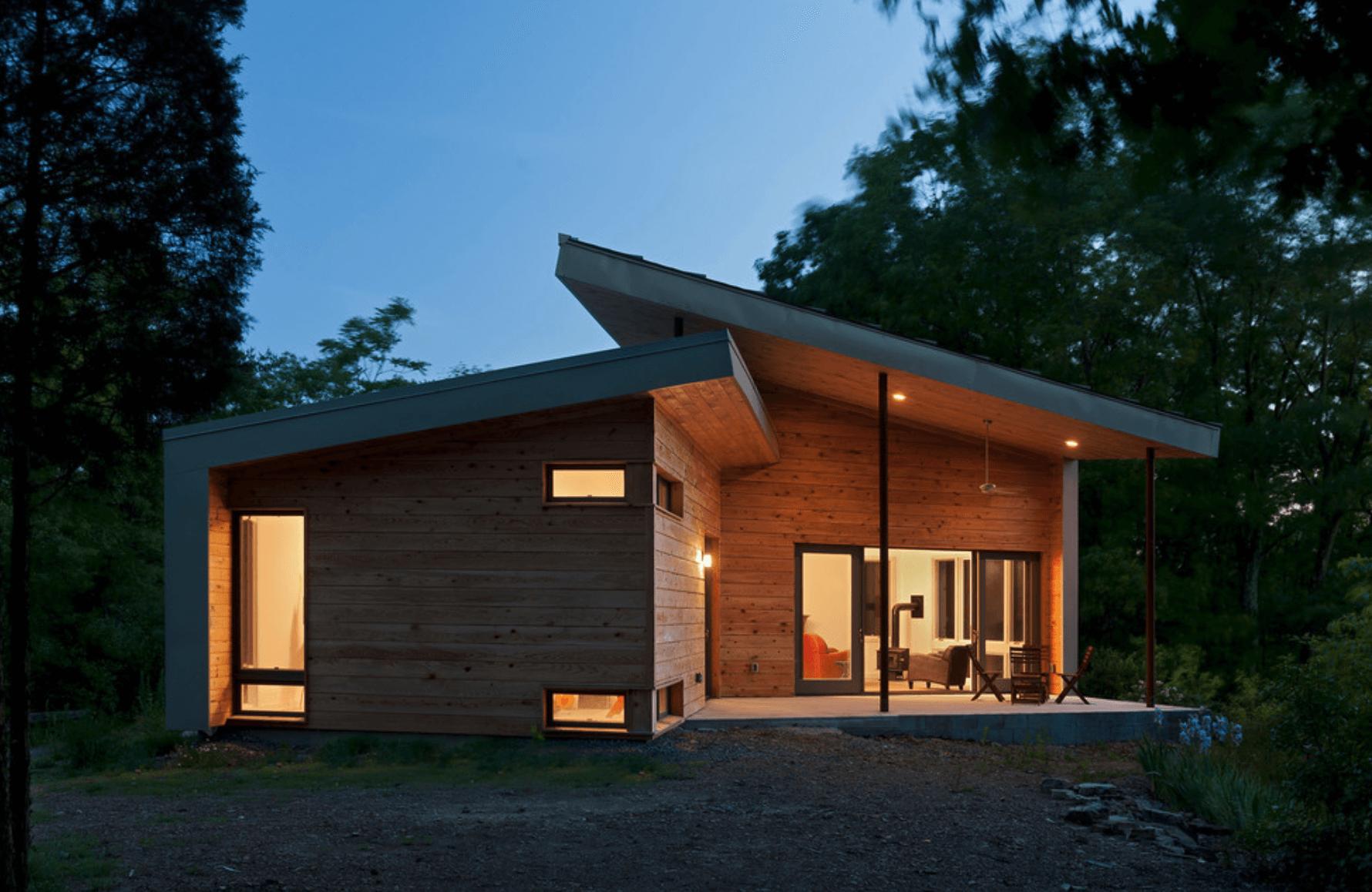 Casas bonitas modernas e simples arquidicas for Casas de madera pequenas