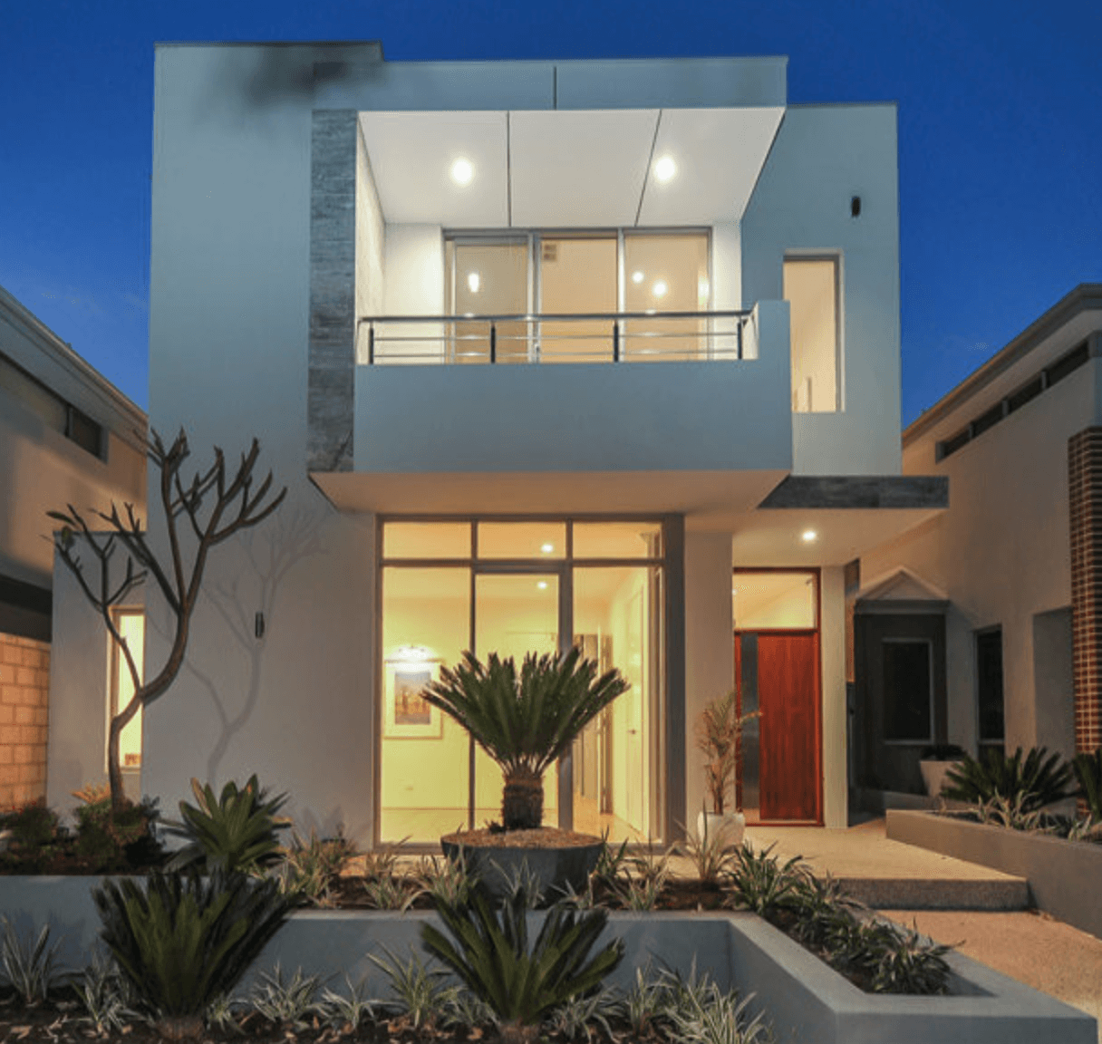 Casas bonitas modernas e simples arquidicas for Casa moderno a
