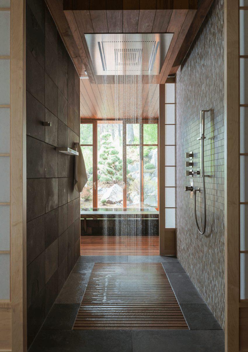 Banheiros contemporâneos