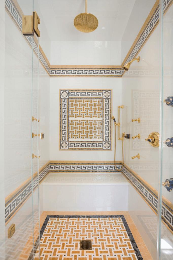 Banheiro eclético
