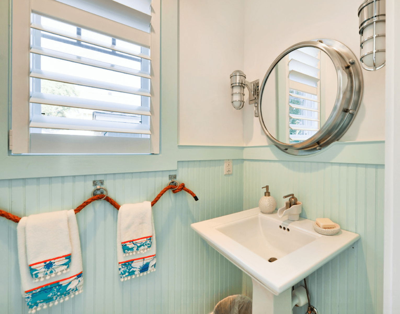 Banheiro estilo praia