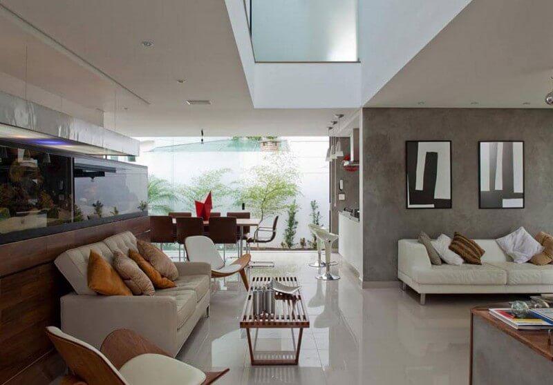 plantas de casas com 3 quartos arquidicas. Black Bedroom Furniture Sets. Home Design Ideas