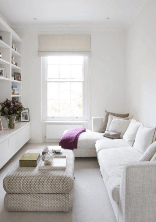 sala de estar pequena decoração