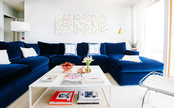 sofá sala grande