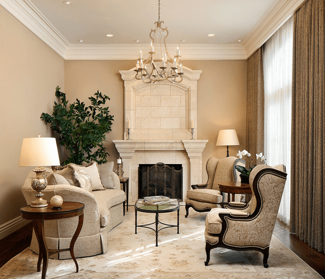 Pictures of formal living rooms white mantel decoration