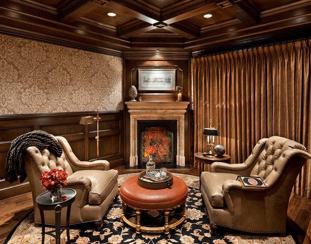 decoração de sala de luxo