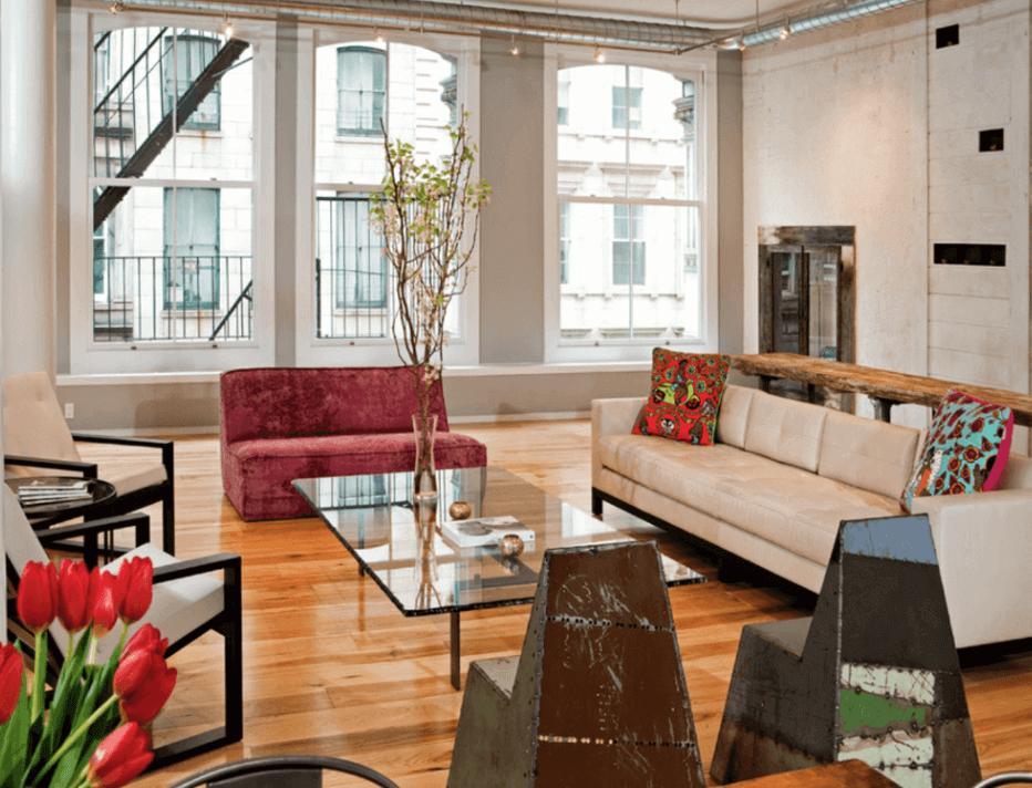 Lindas salas decoradas 57 fotos arquidicas for Living room ideas with 3 windows