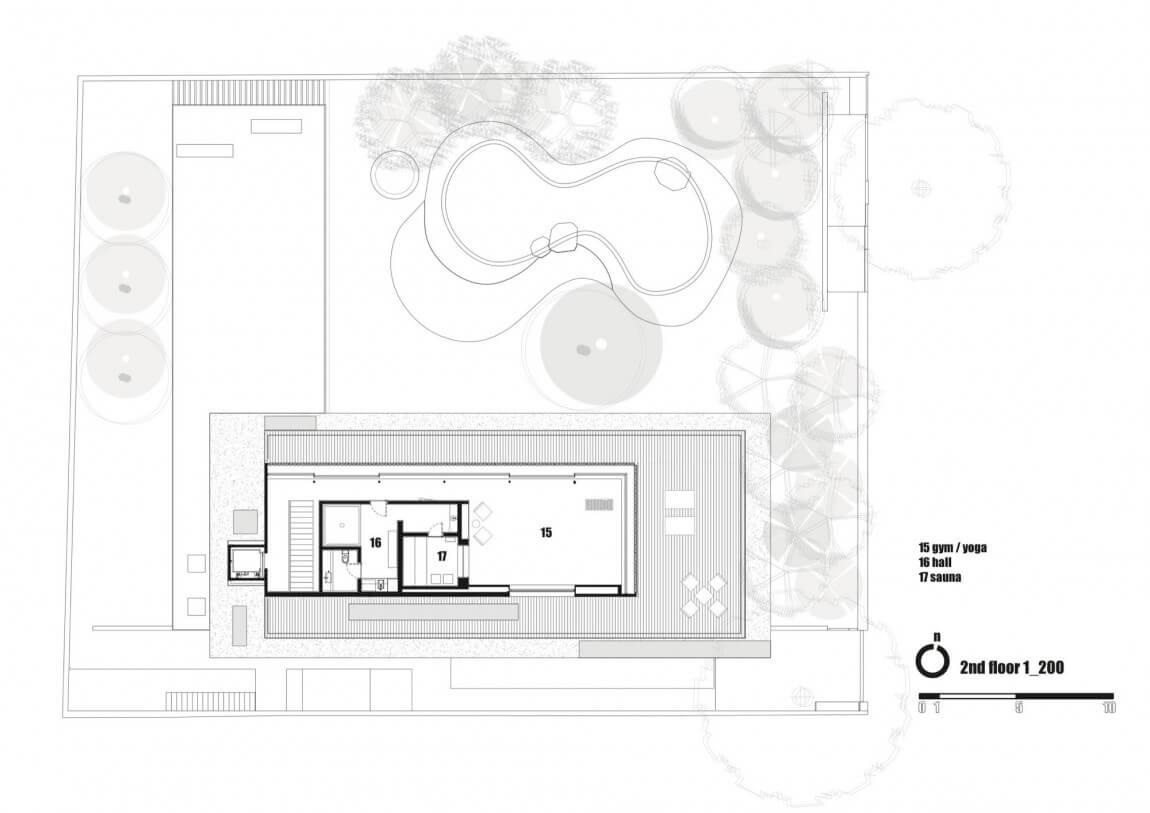 Casa Cobogó Planta Cobertura