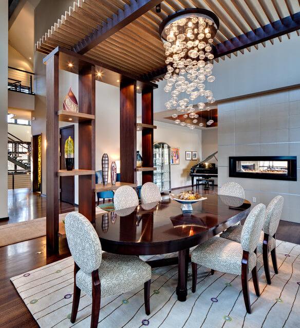 sala de jantar interiores