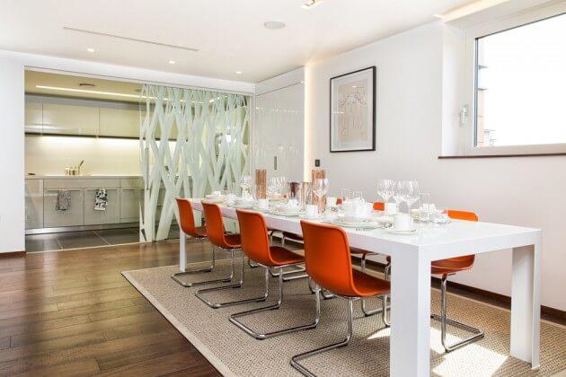 salas modernas de jantar