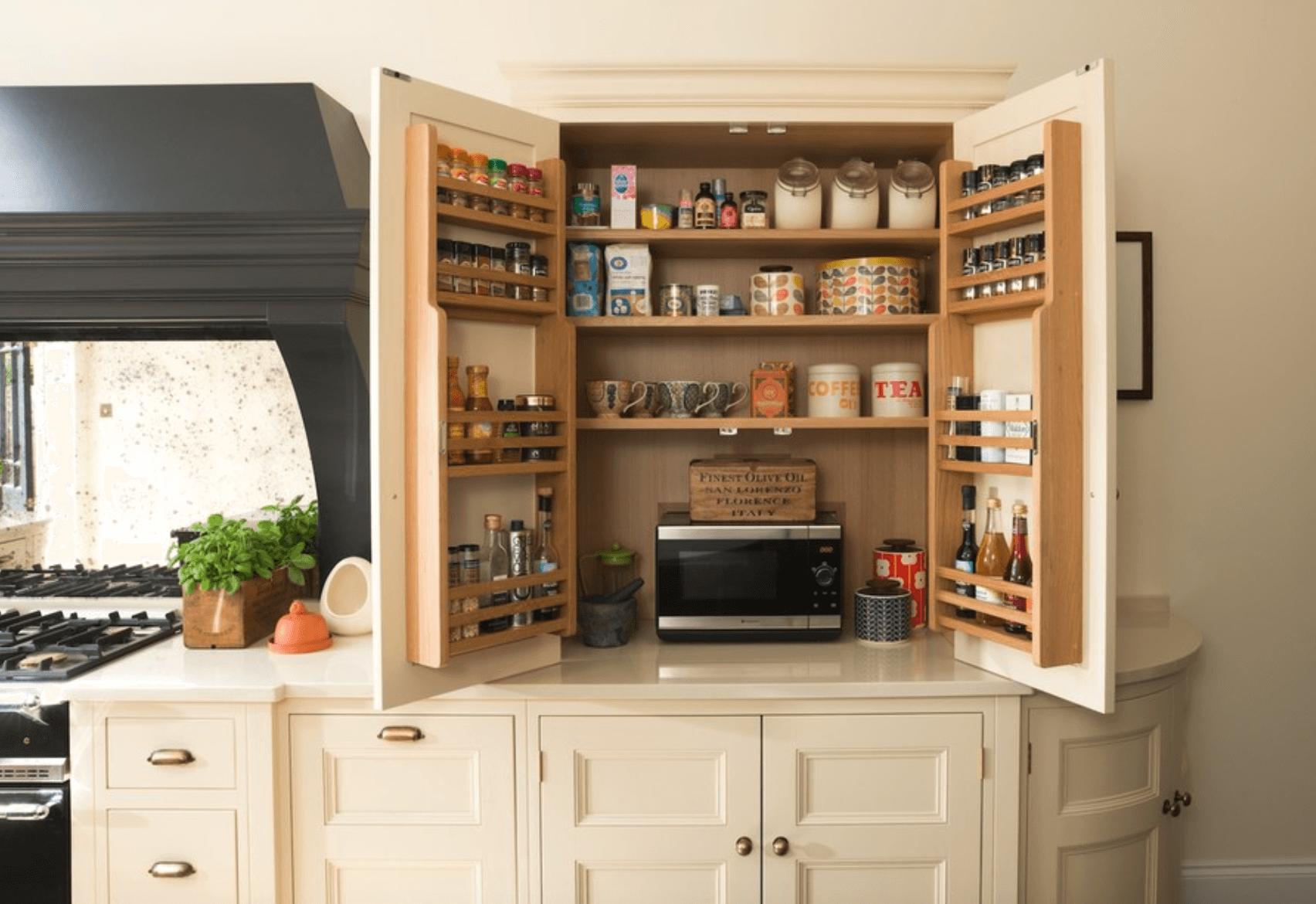Armário de Cozinha Decorado