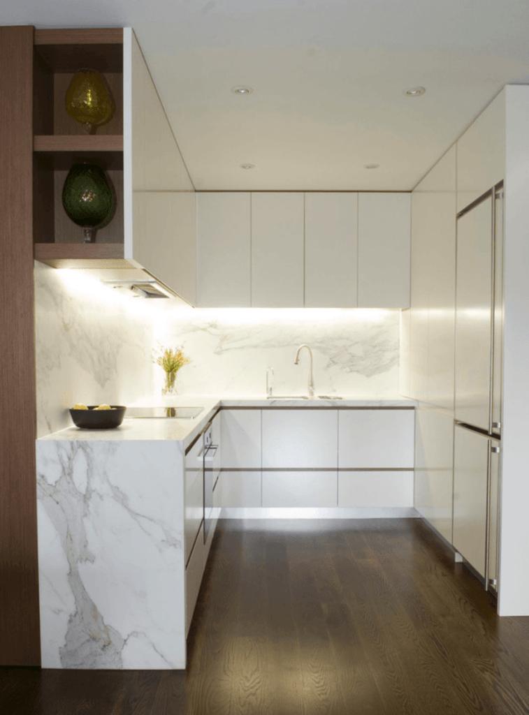 Decoração cozinha branca