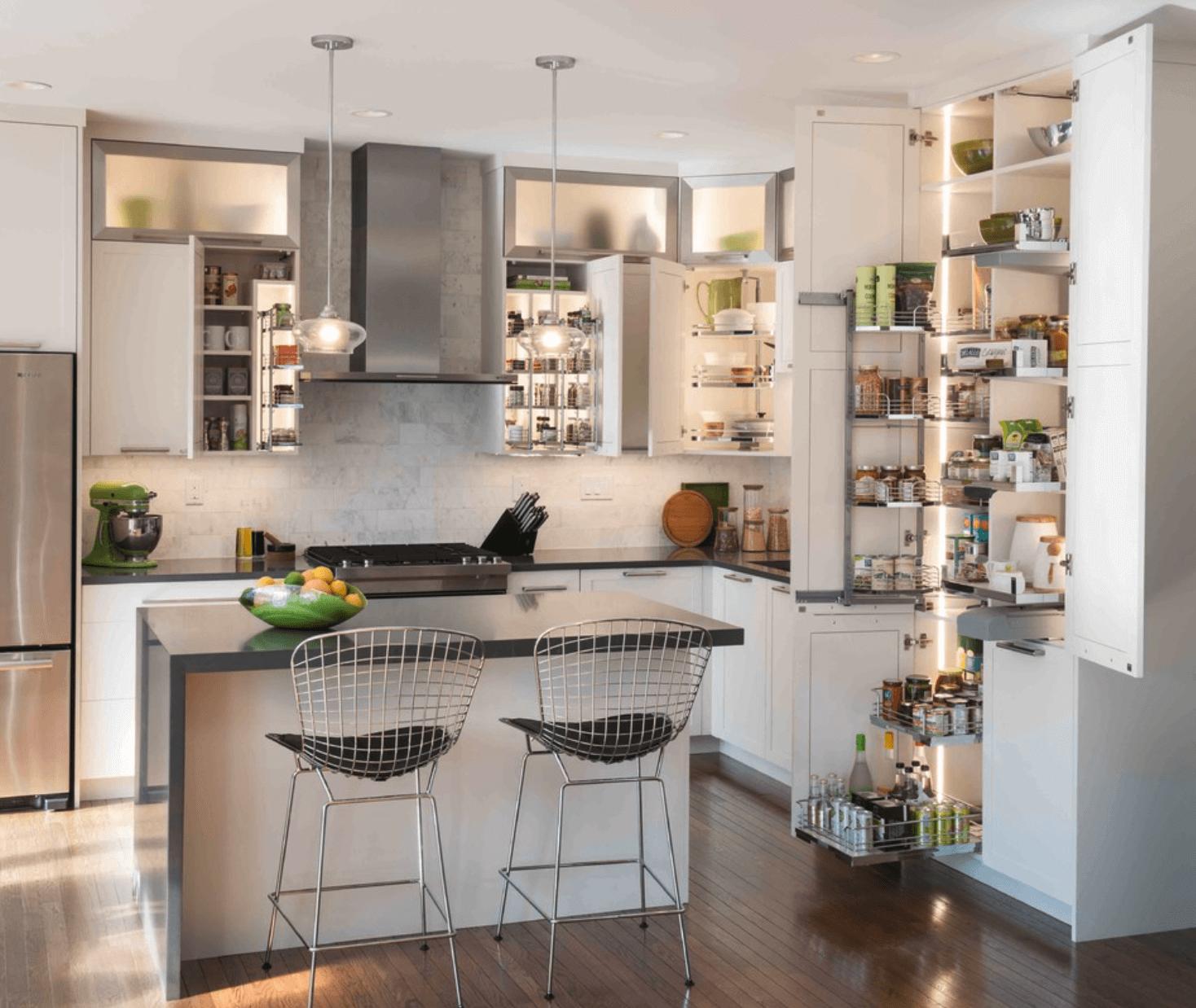 #4C6131 decoracao de cozinha americana.png 1468x1238 px Balcão De Cozinha Americana Com Bar #2349 imagens
