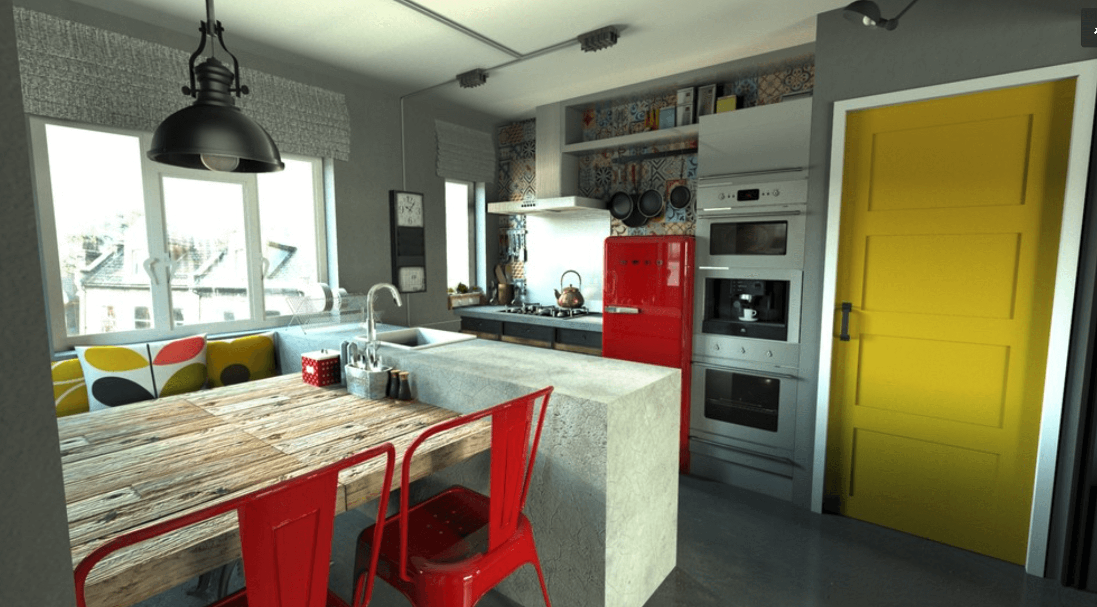 Fiqui agora com 23 fotos de cozinhas decoradas selecionadas confira! #AF991C 2218 1228