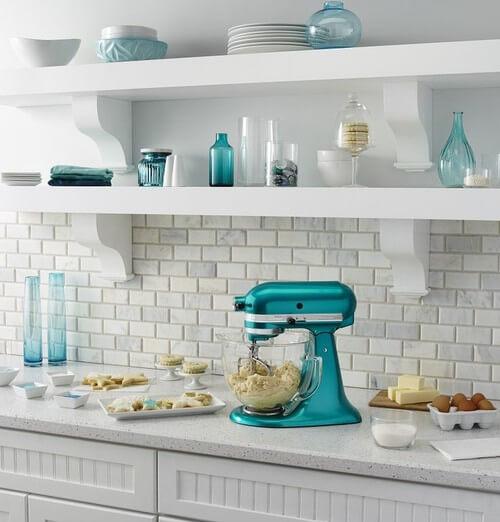 kitchenaid cozinha decorada
