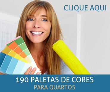 190 Paletas de Cores para o Seu Quarto