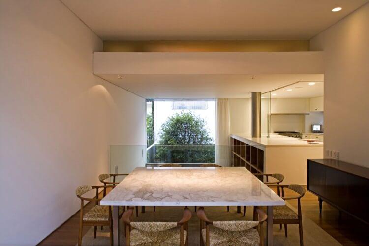 sala de jantar casa vertical