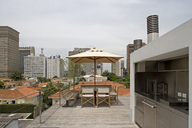 terraço casa vertical