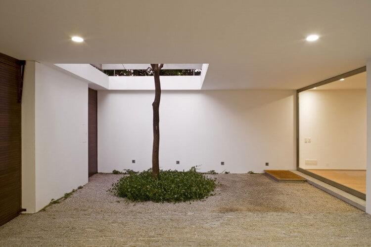 acesso da casa vertical