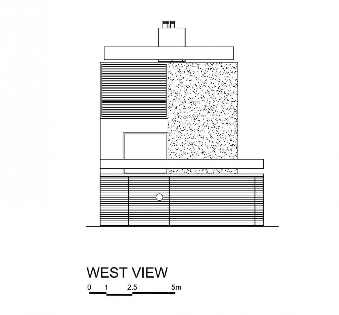 fachada casa vertical