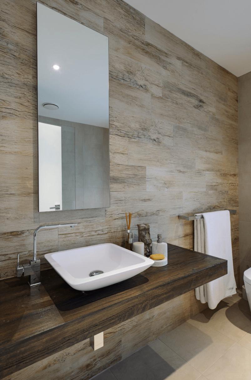 Revestimento banheiro planejado