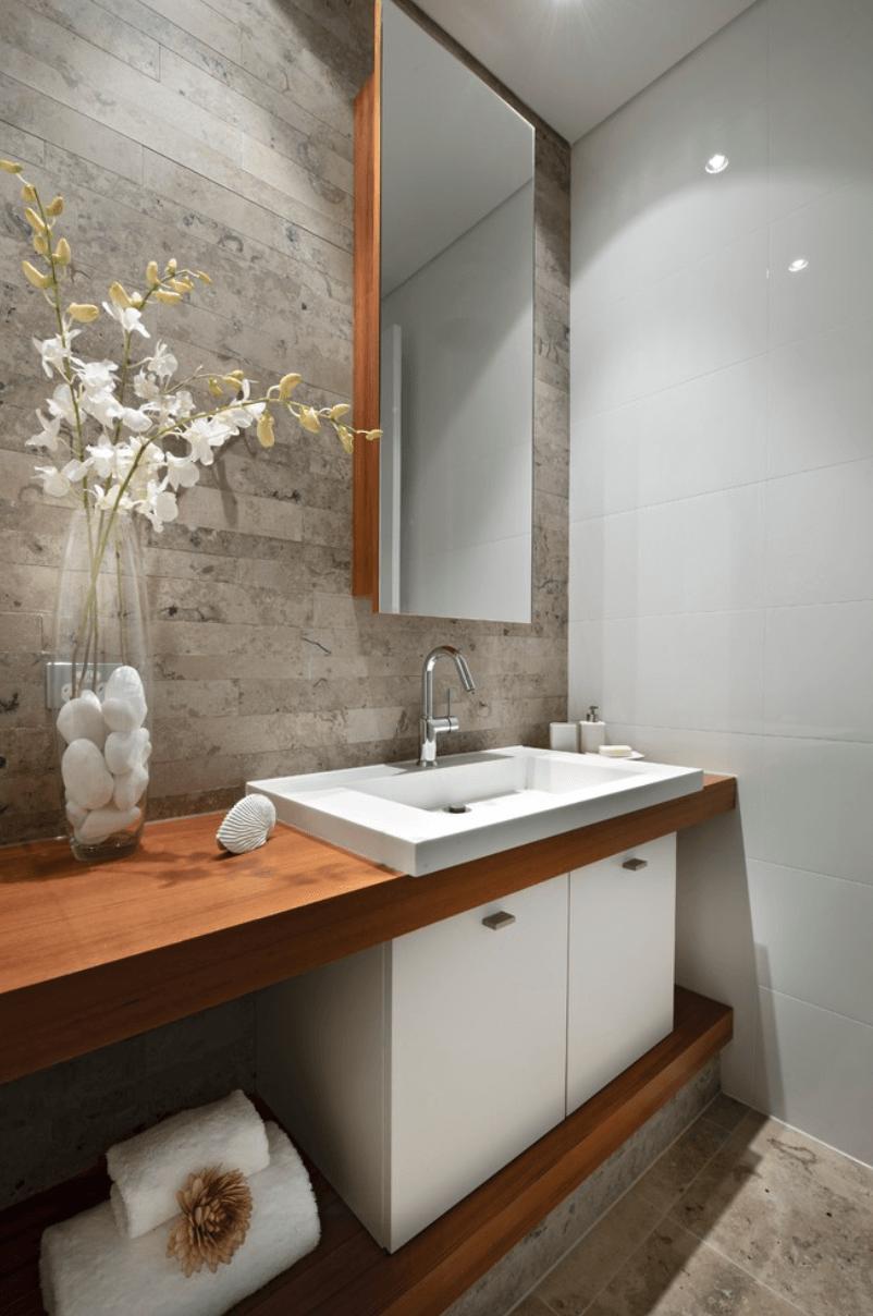 25 Banheiros Planejados  Arquidicas -> Banheiros Planejados Vermelho