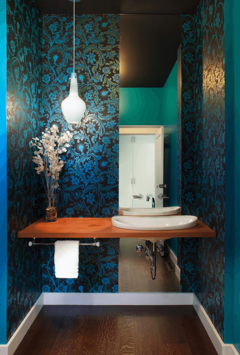 Banheiros planejados e decorados