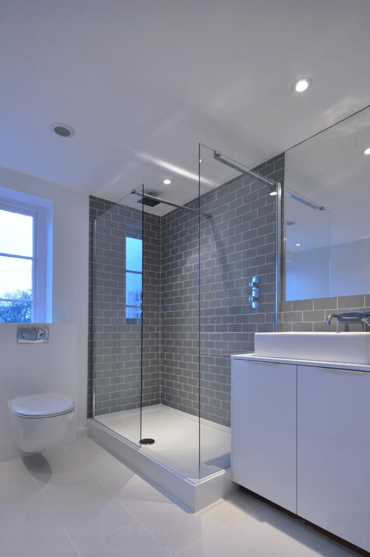 Banheiros planejados simples
