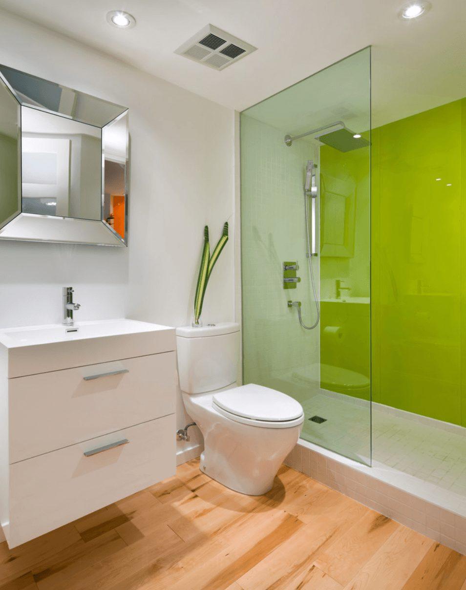 Banheiros planejados pequenos