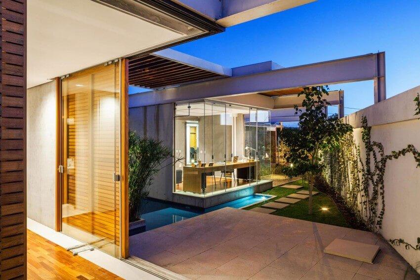 Modelos de casas projetos completos com fotos e plantas for Modelos de patios de casas pequenas