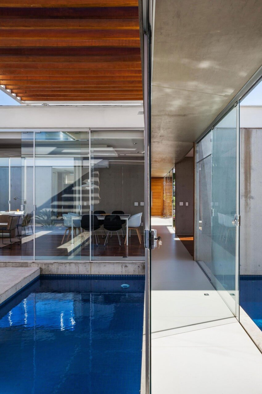 piscina casa pergolas
