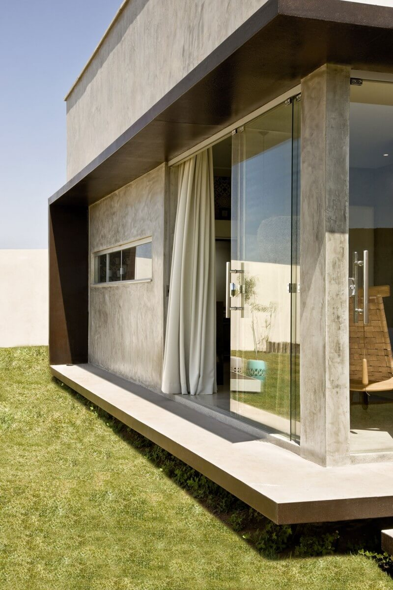 detalhe construtivo casa box