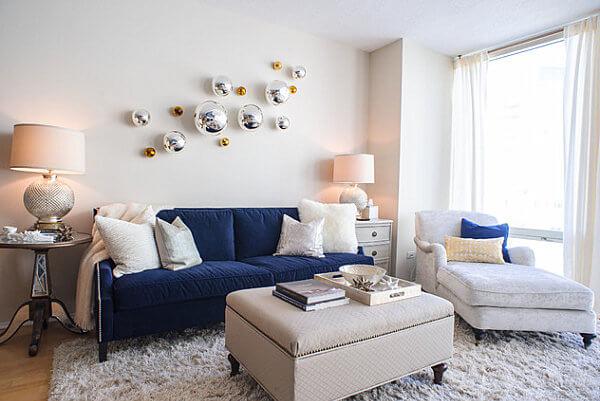 Sala confortável pequena