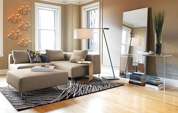 Sala pequena planejada